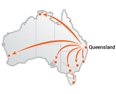 Truck Moves From Queensland