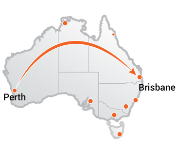 Truck Movers Perth to Brisbane