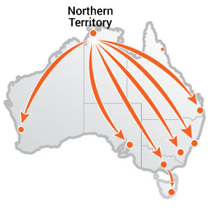 Truck Moves From Northern Territory