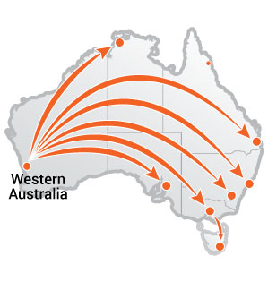 Truck Moves From Western Australia