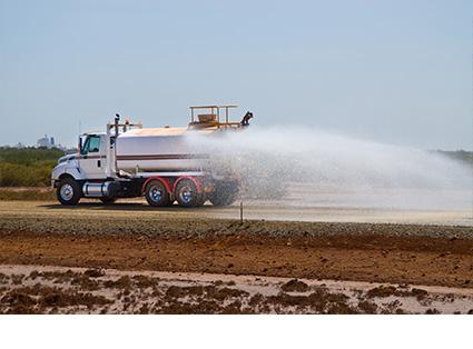 Water Tanker Transport
