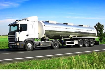 Semi Tanker Trailer Transport
