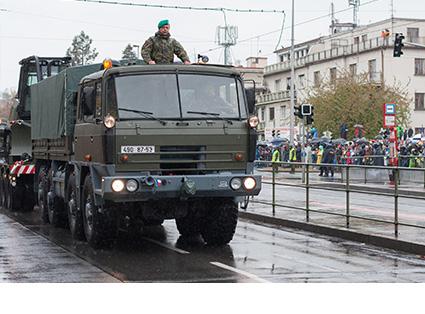 Defence Truck Transport