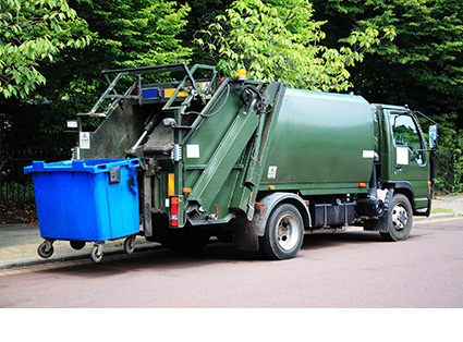 Garbage Truck Transport