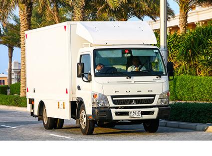 Medium Truck Transport