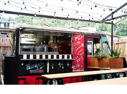Mobile Kitchen Transport