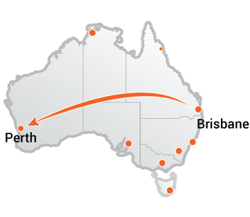 Truck Movers Brisbane to Perth