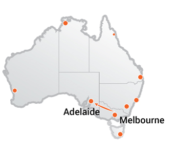 Truck Movers Melbourne to Adelaide