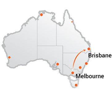 Truck Movers Melbourne to Brisbane