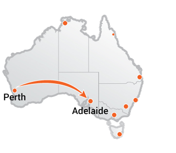Truck Movers Perth to Adelaide