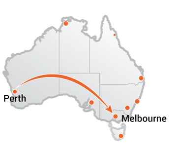 Truck Movers Perth to Melbourne
