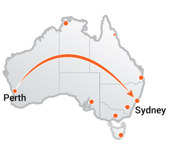 Truck Movers Perth to Sydney