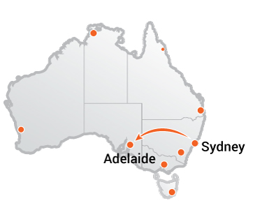 Truck Movers Sydney to Adelaide