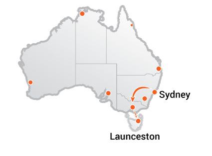 Truck Movers Sydney to Launceston