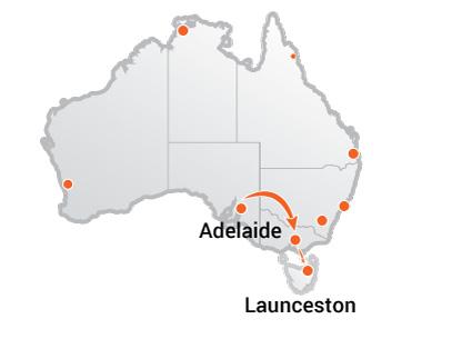 Truck Movers Adelaide to Launcesto