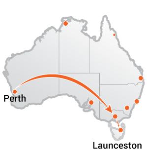 Truck Movers Perth to Launceston