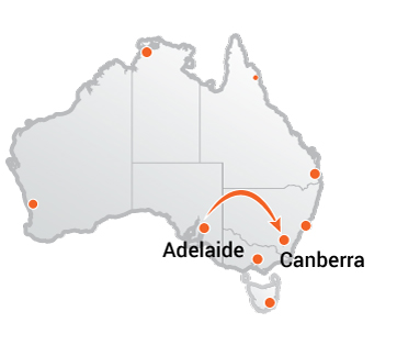 Truck Movers Adelaide to Canberr
