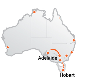 Truck Movers Adelaide to Hobart