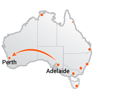 Truck Movers Adelaide to Perth