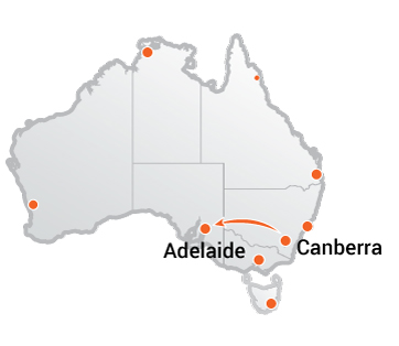 Truck Movers From Canberra to Adelaide