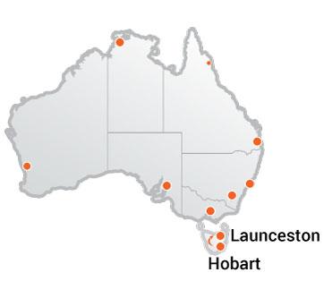 Truck Movers Hobart to Launceston