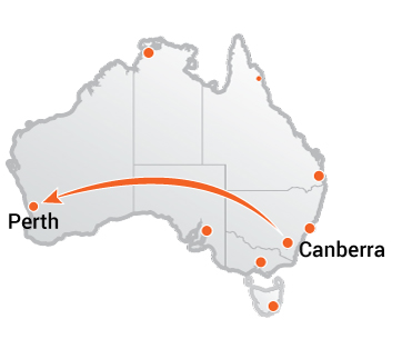Truck Movers Canberra to Perth