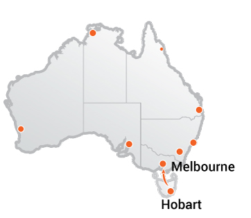 Truck Movers Hobart to Melbourne